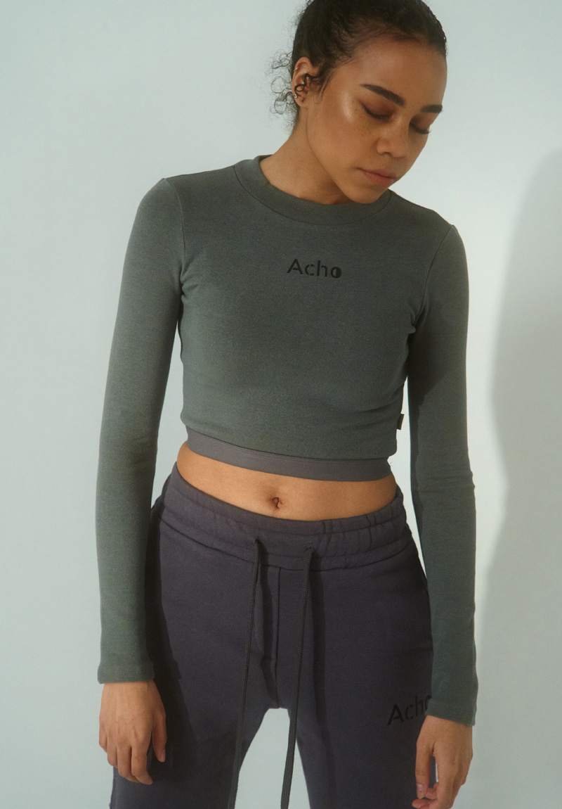 LOGO BAND CROP TOP / GG