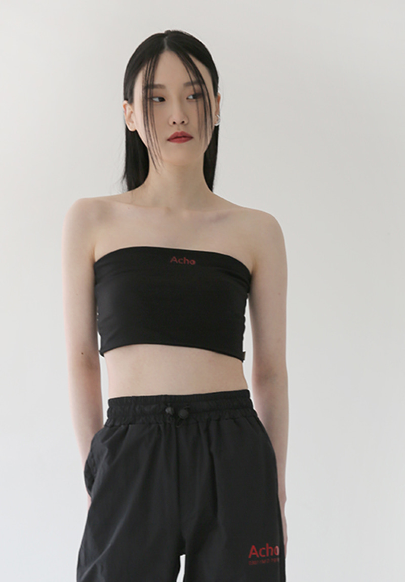 Premium Cotton Bra top_Black